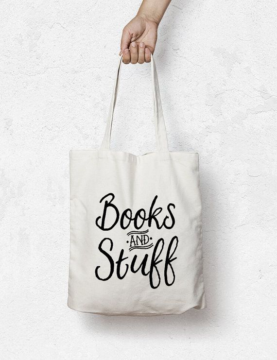 Book Bag Custom Tote Grocery Library By Minimoiprints