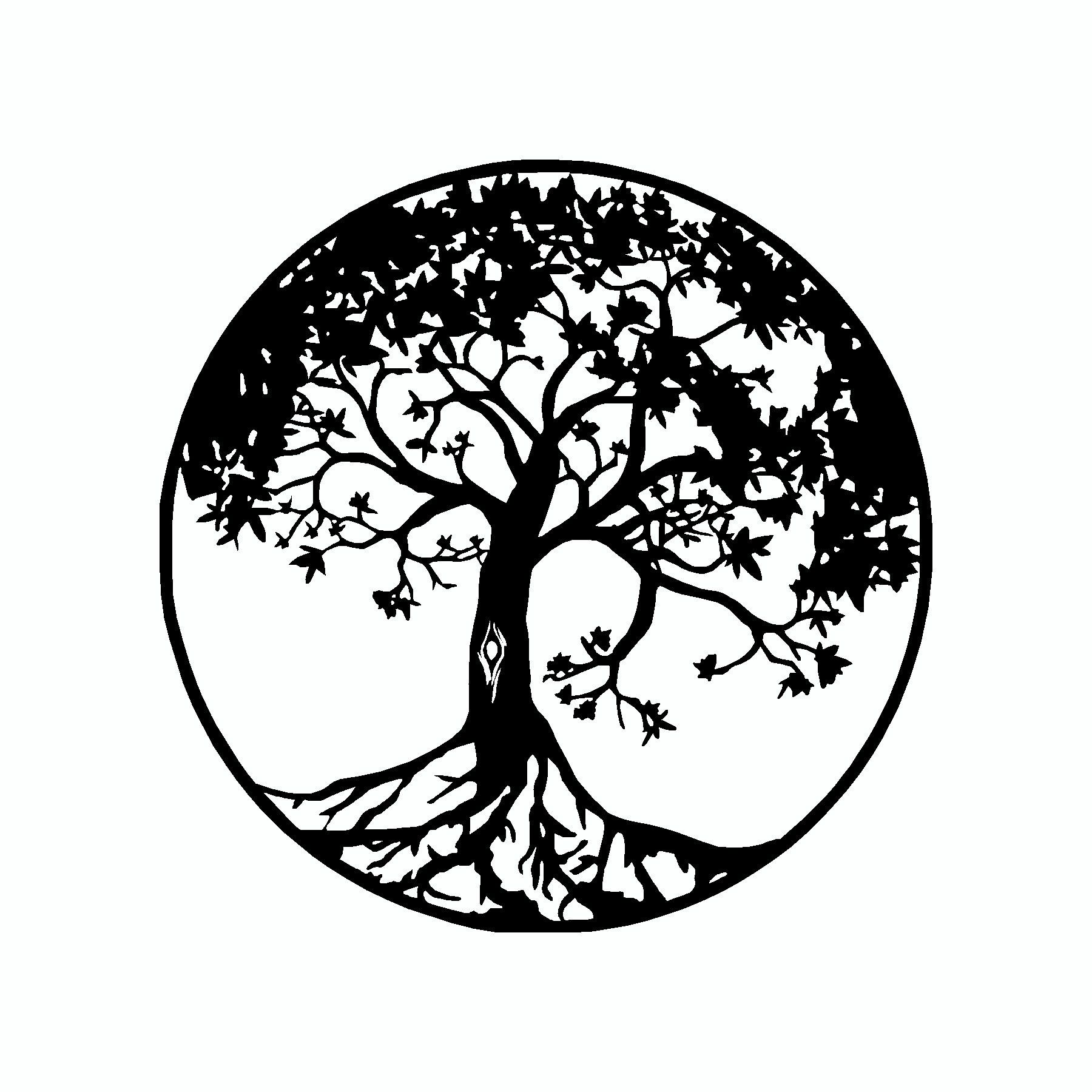 tree of life vinyl sticker products tatouage arbre de. Black Bedroom Furniture Sets. Home Design Ideas