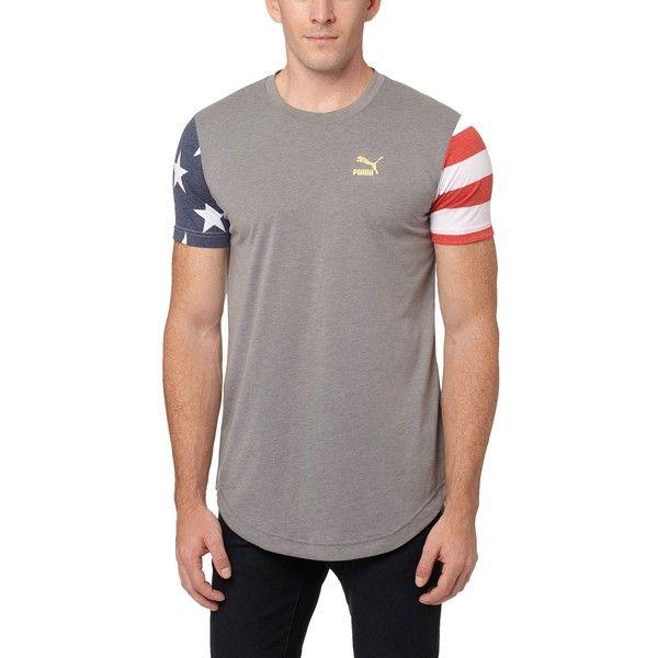 Puma Americana Progressive T-Shirt ($35) ❤ liked on Polyvore - americana sportswear