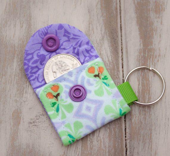 Aldi Quarter Keeper Keychain Cart Coin Key By Seamssoirresistible
