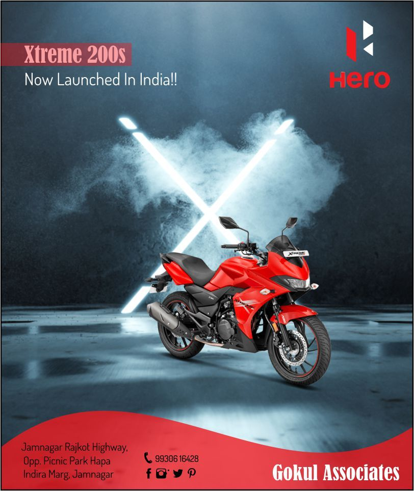 Pin By Saurav Raj On Motorcycle Hero Motocorp Motorcycle New