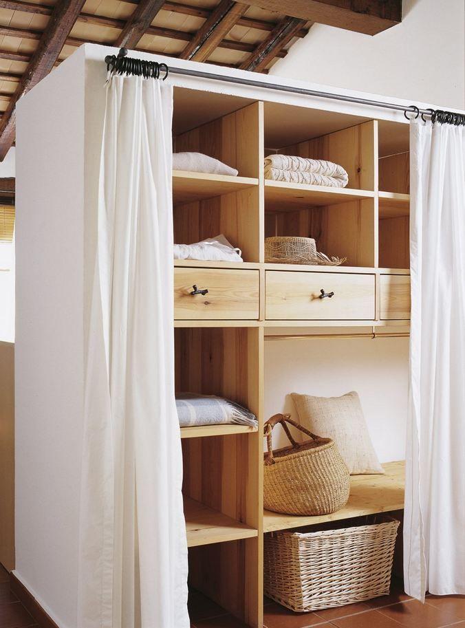 48+ Ideas para tapar un armario sin puertas trends
