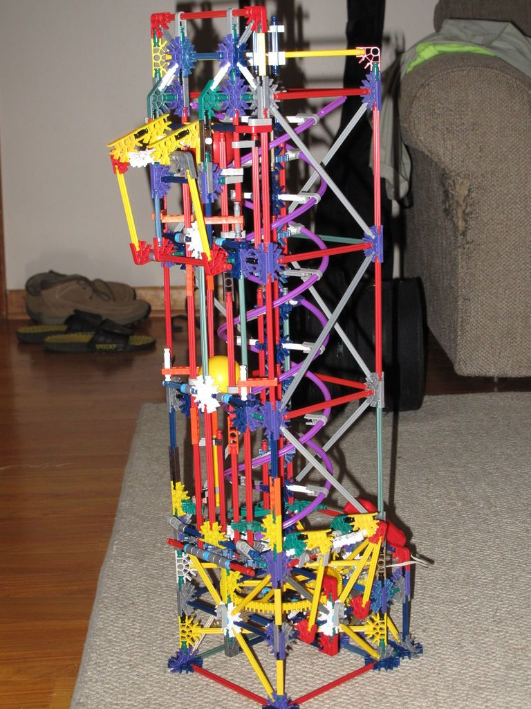 Best Knex Double Helix Lift K Nex Ball Machines Double 640 x 480