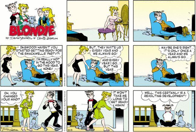 Comic strip dagwood