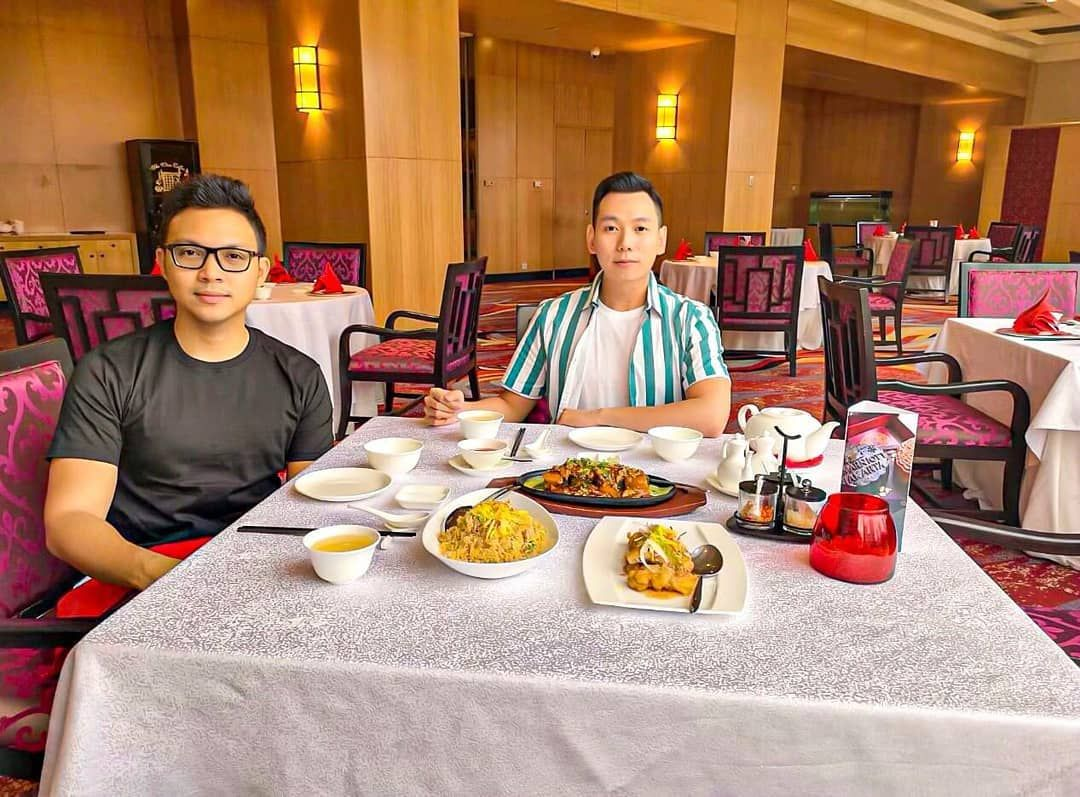 Another Chinese luncheon, at Pearl JW Marriott Hotel Jakarta.  #cuteguys #handsome #chinese #chinese...