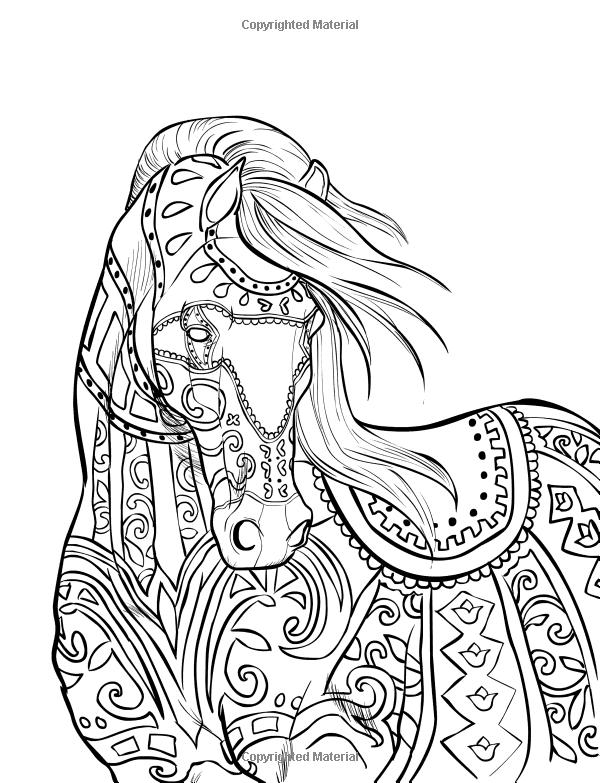 - Mandala de chevaux ...