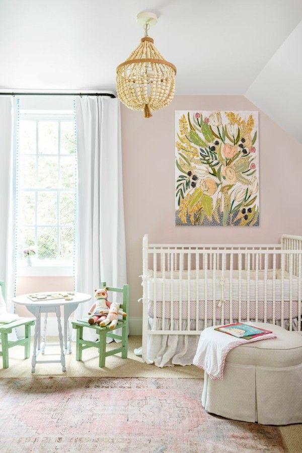 Wandfarbe apricot der frische trend bei der wandgestaltung in 40 beispielen ideas for the house - Hellrosa wandfarbe ...