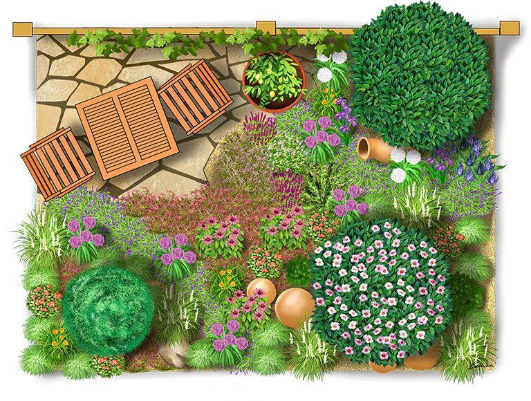 Mediterraner Garten Provence garden, Garden ideas and Gardens
