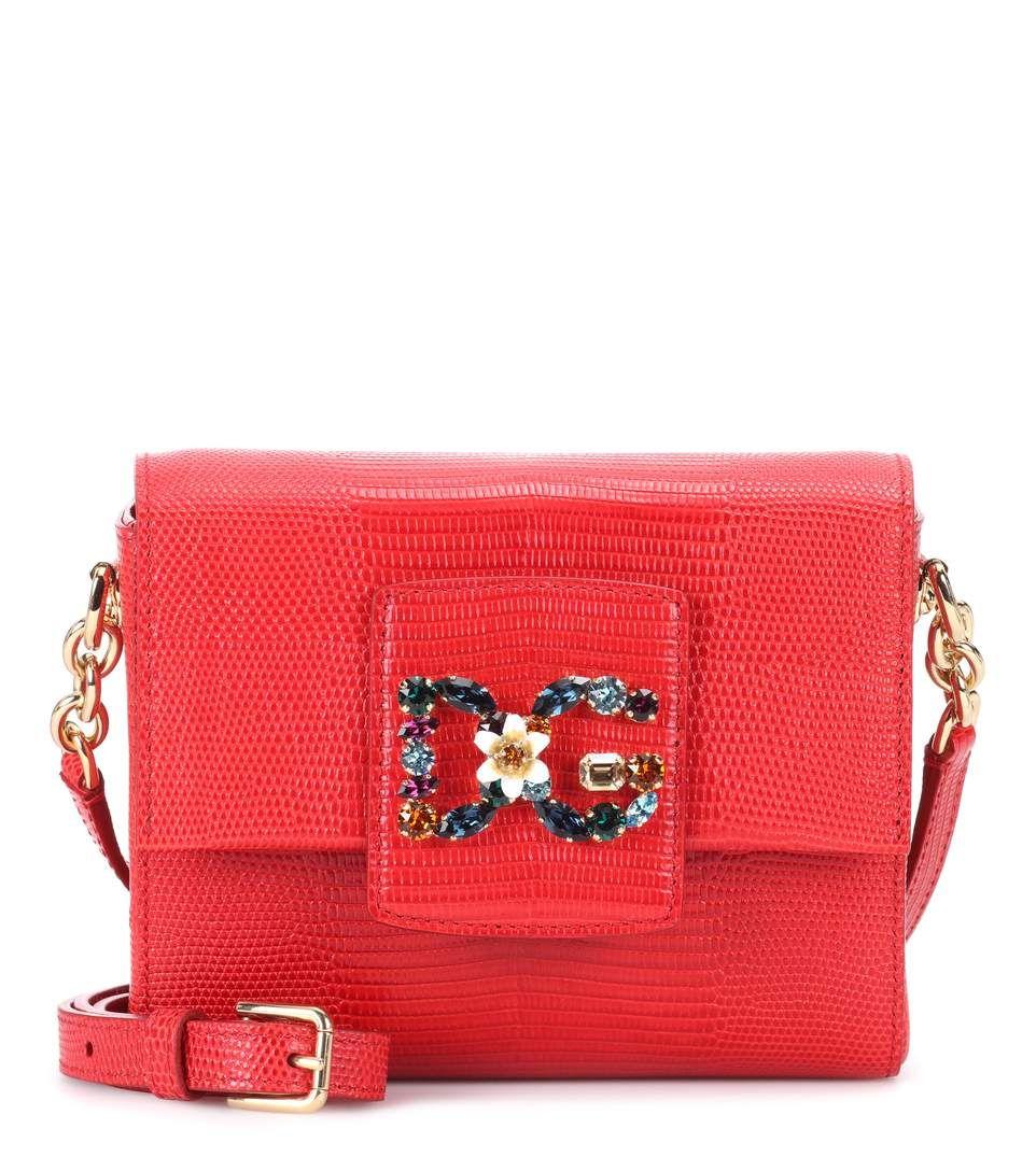 Dolce & Gabbana Sac De Portefeuille Crossbody - Rouge Payer Avec Paypal En Ligne Livraison Gratuite Confortable Prix De Gros Pas Cher IoG9Gv2Oe