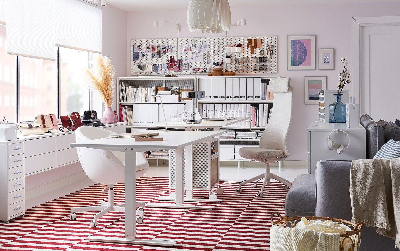 Aufbewahrung Dekoration Fur Dein Arbeitszimmer Ikea Zuhause Arbeitszimmer Aufbewahrung