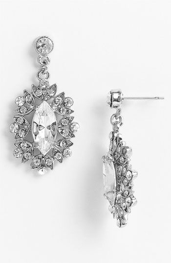 Nina Celia Marquise Drop Earrings available at Nordstrom stead