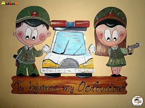 anjelicek / Menovka - policajt a policajtka