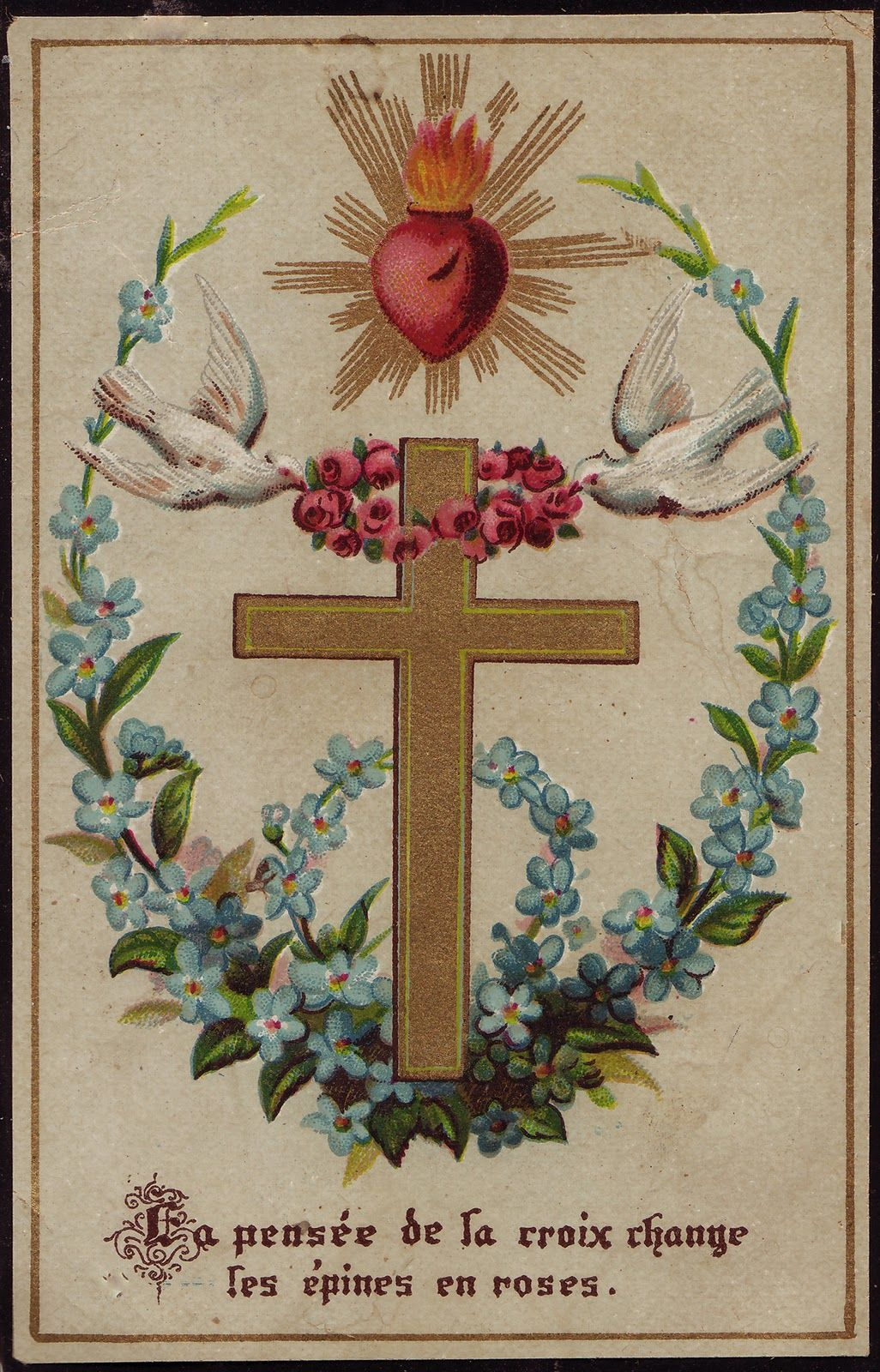 Meditation Of The Cross Changes Thorns Into Roses