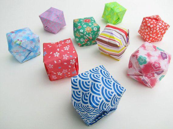 Origami Lanterns Set Of 50 Handmade Paper Lanterns Assorted