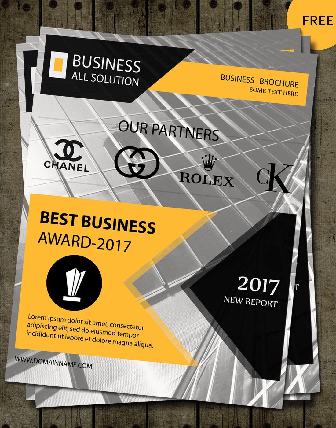 award brochure templates | brochure Design | Pinterest | Brochure ...