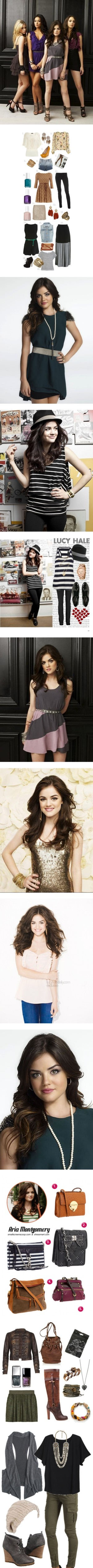 """""""Pretty Little Liars: Aria Montgomery"""" by holly-plake on Polyvore"""