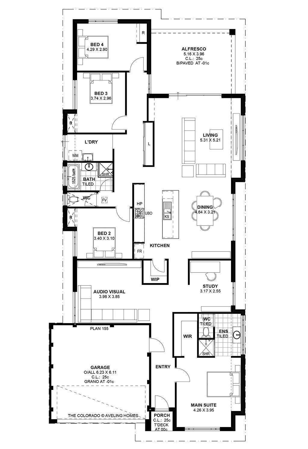 Colorado Aveling Homes Floor Plans 4 Bedroom House Plans House Plans