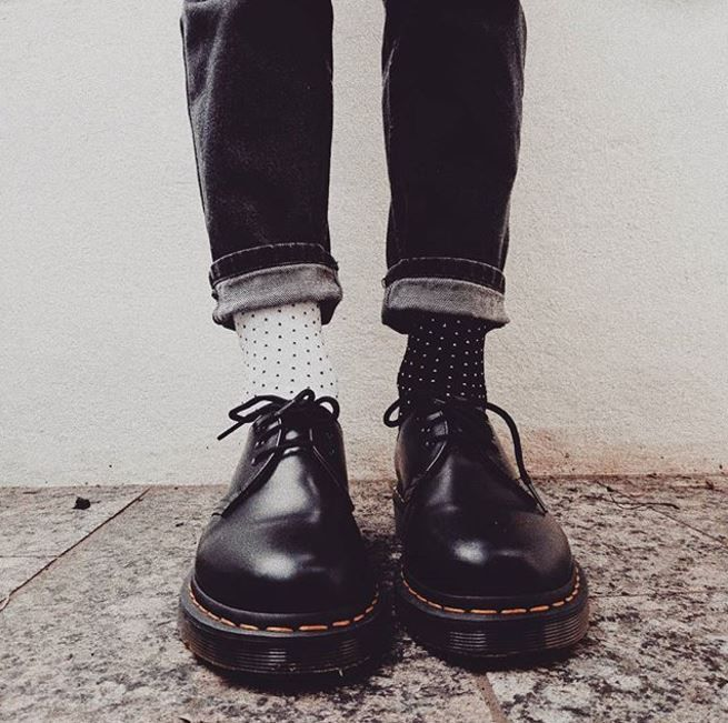 DOC'S & SOCKS: The 1461 shoe, worn by katharinaxhelena.