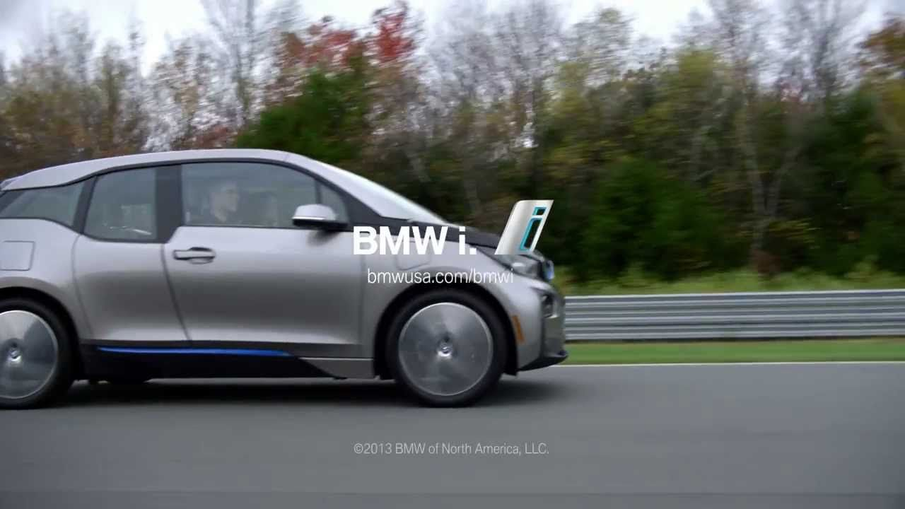 The First Ever Bmw I3 Electric Car Hot Lap Cool Electric Cars