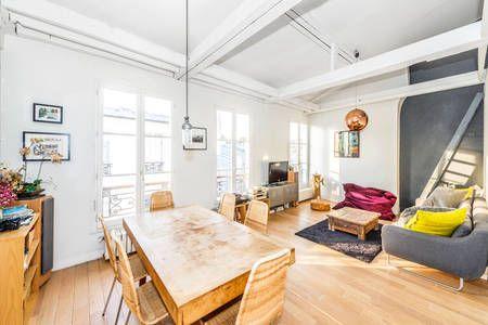 A Shiny Loft In Paris Montmartre In Paris Loft Home Paris Apartments