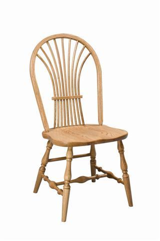 Amish Wheat Back Windsor Dining Room Chair
