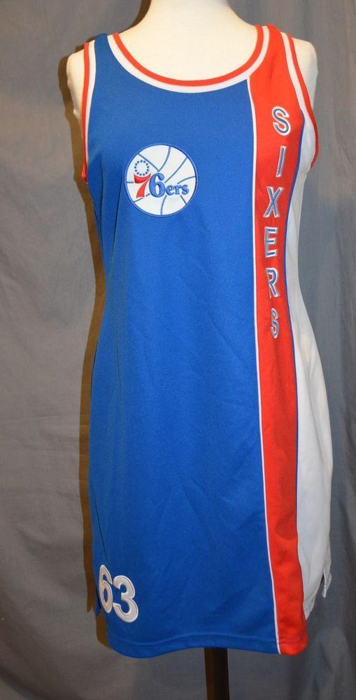 df0200637 Philadelphia 76ers Jersey Dress M Hardwood Classic NBA  63 Sixers   HardwoodClassics  Philadelphia76ers