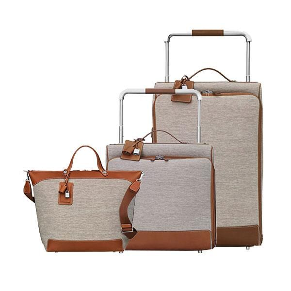 The 10 Best Luxury Luggage Sets To Invest In Elle Canada This Versatile Calfskin And Canvas Hermès Set Will Look Just As Good On Safari