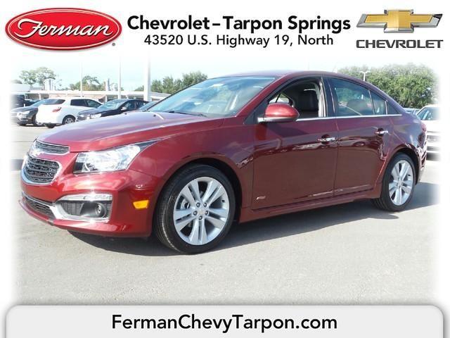 2016 Chevrolet Cruze Limited Sedan Ltz Siren Red Chevrolet