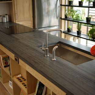 Heathermoor Slate Countertop Gray Black Slate Solar Decathlon