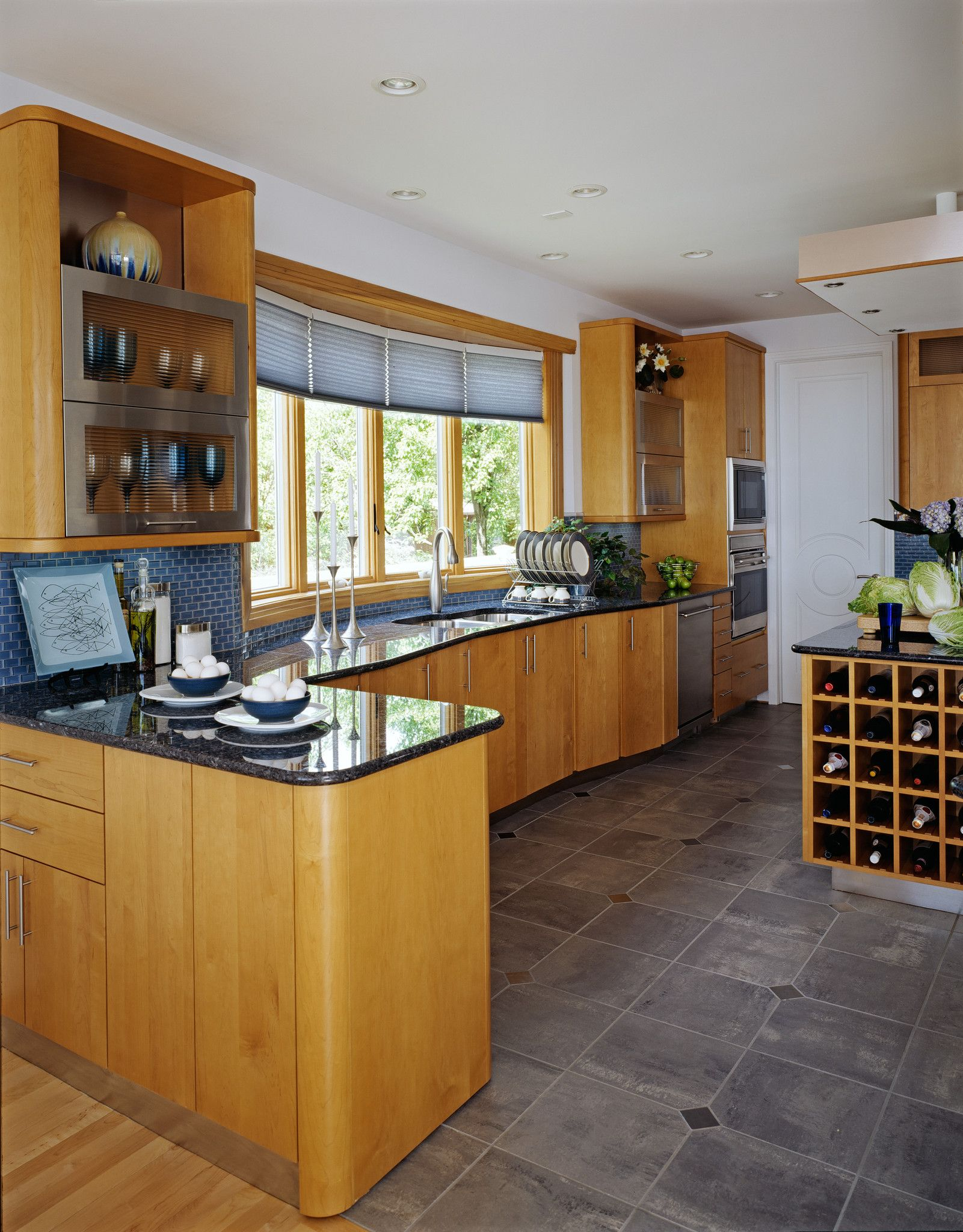 Wow This Kitchen Has Everything Lovely Cabinets Amazing Tile
