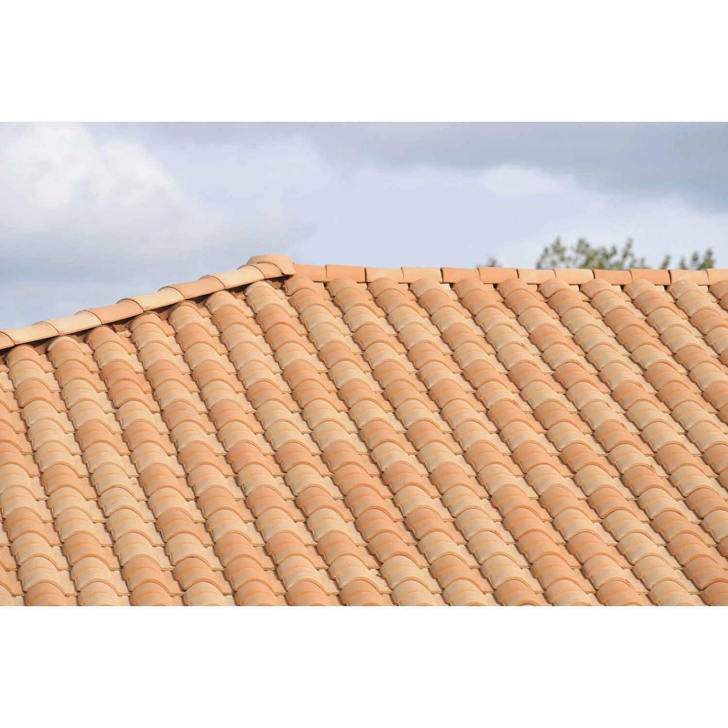 New Tuile Point P Roman Roofing