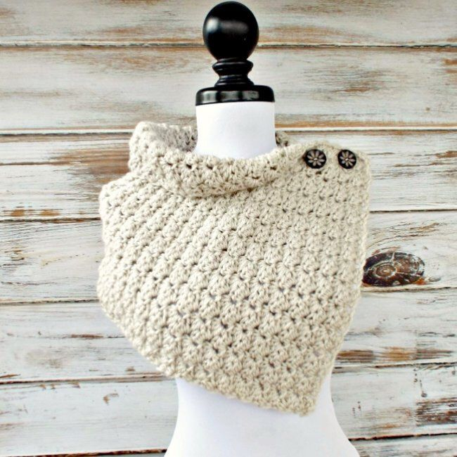 Instant Download Crochet PATTERN PDF - Crochet Cowl Pattern Crochet ...