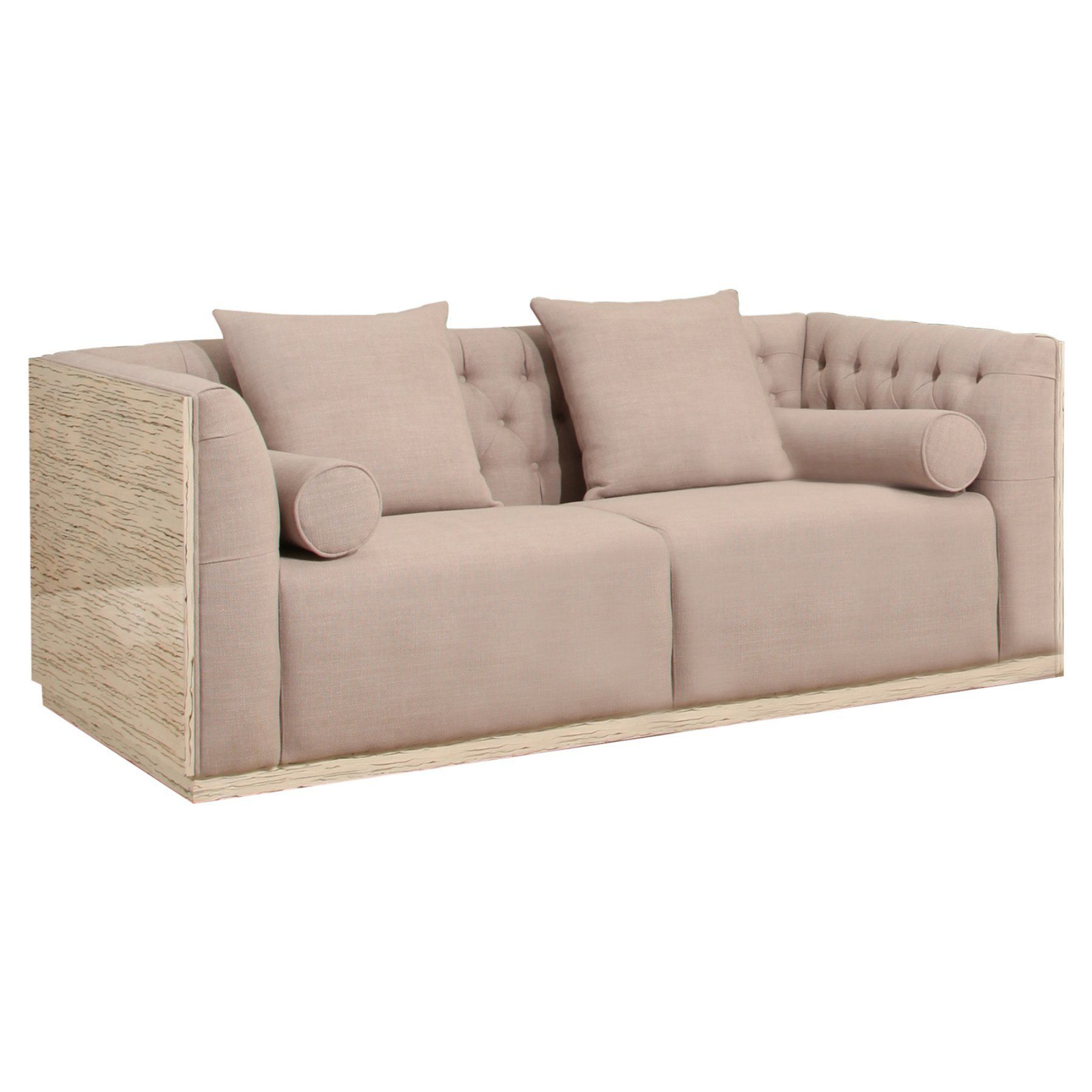 Abbyson Jenny Shell Sofa OD L 018 3