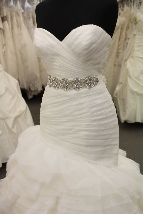 Rhinestone Bridal Sash And Crystal Wedding Belt