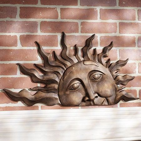 Outdoor Wall Sculptures Outdoor Wall Art Touch Of Class