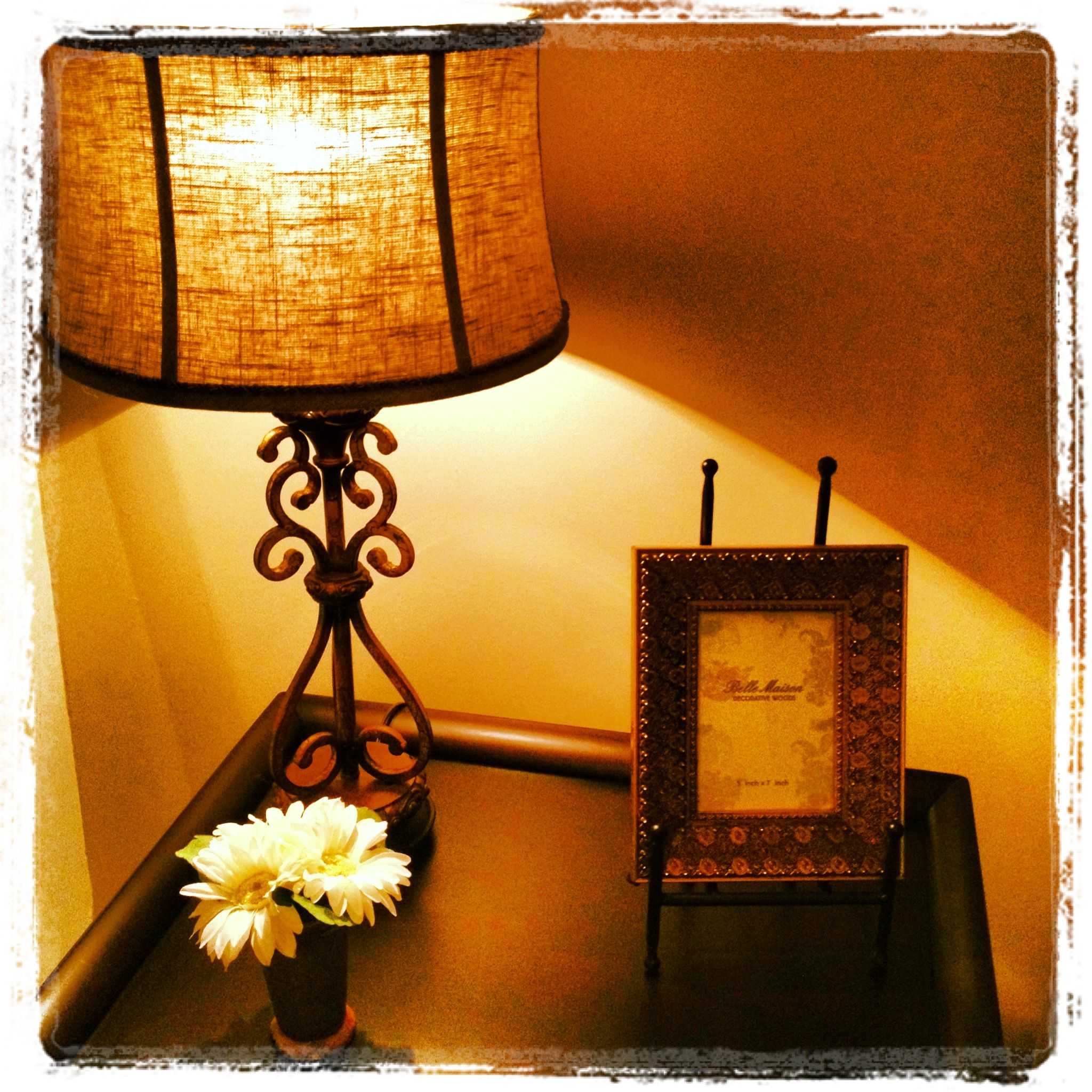 this is actually in my apartment my end table design love the
