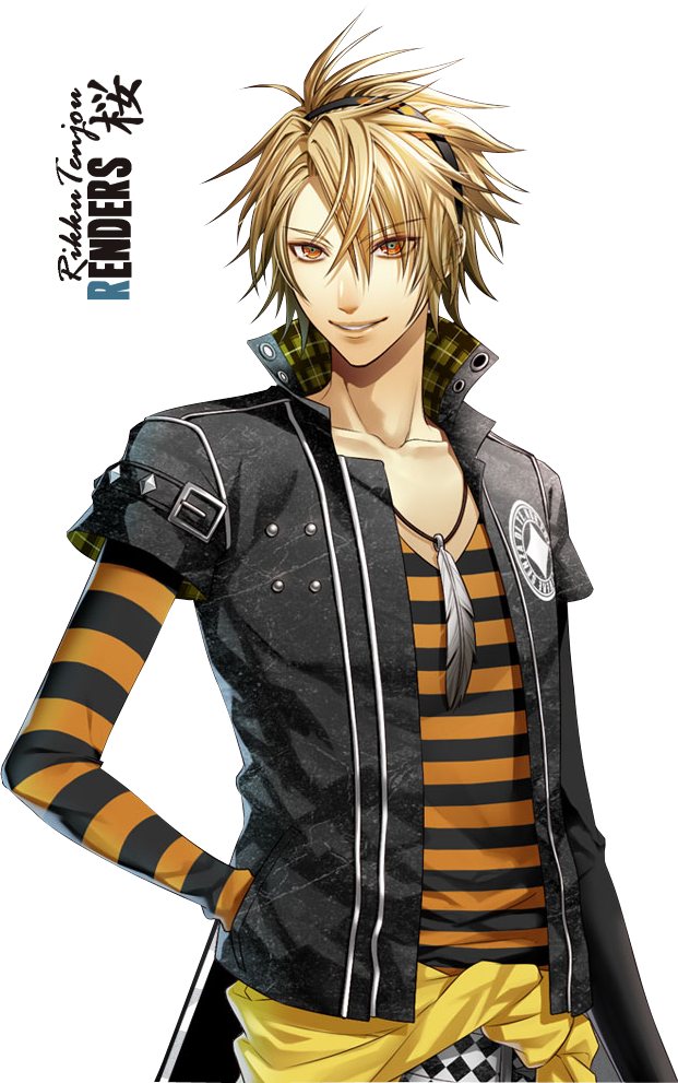 Render Visual Novel Renders Amnesia Boy Personnage, Manga