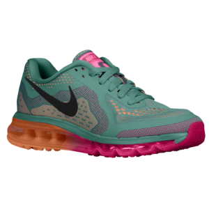 buy online cfcd6 88049 Nike Air Max 2014 - Women's - Jade Glaze/Bright Magenta/Atomic Orange/Black