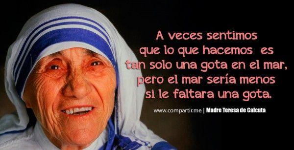 Pin by Yanira Velazquez on mother Teresa quots   Mother teresa