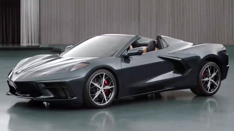 Chevy Corvette C8 Convertible Shown Coming Soon Corvette Convertible Chevy Corvette Chevrolet Corvette Stingray
