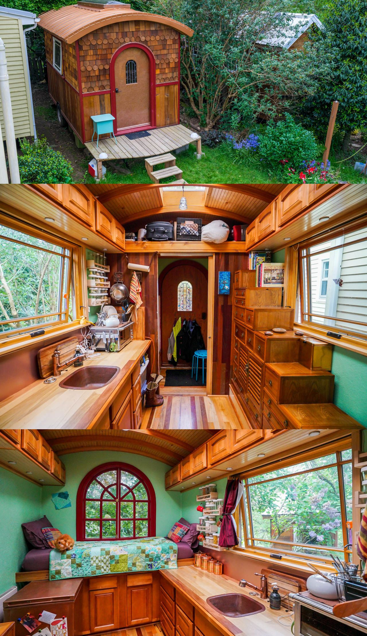 This Tiny Copper House Is Full of Small Space Surprises