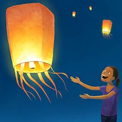 Easy to make step-by-step tutorial for Sky lanterns. Visually stunning, eco friendly & less polluting alternative