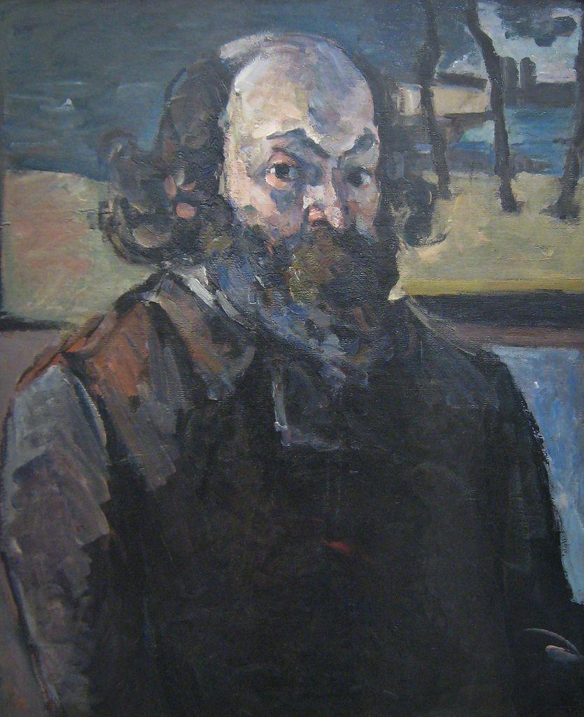 Paul Cézanne, Self-Portrait, 1873-1876