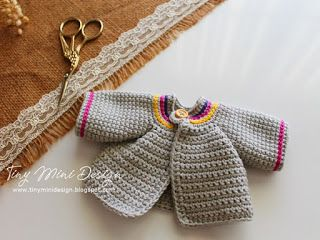 Amigurumi Tini Mini Kız Yapılışı-Free Pattern Tini Mini Dolls - Tiny Mini Design #crochettoysanddolls