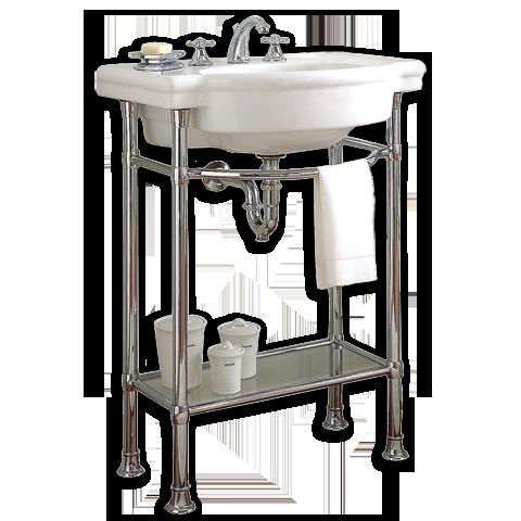 american standard retrospect 27 console table shown in 020 white pedestal sink