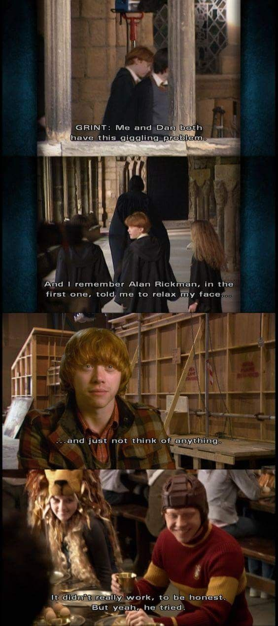 Pin By Judit Mateu On Harry Potter Harry Potter Cast Harry Potter Funny Harry Potter Interviews