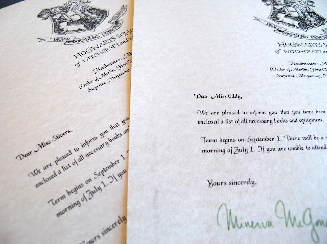 Hogwarts Acceptance Letter Template  Helpful Cuz I Need Help