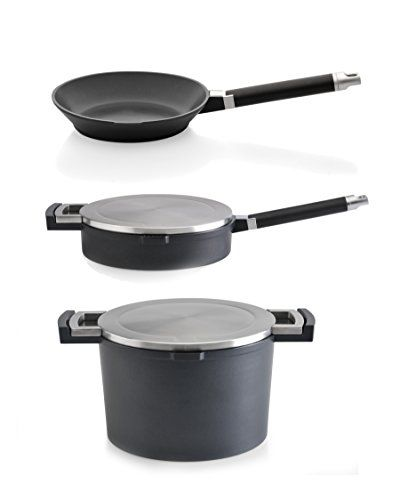 Berghoff 5piece Neo Cast Aluminum Cookware Set Black Click On The Image For Additional Details It Is Cookware Set Cookware Sets Cookware Set Stainless Steel