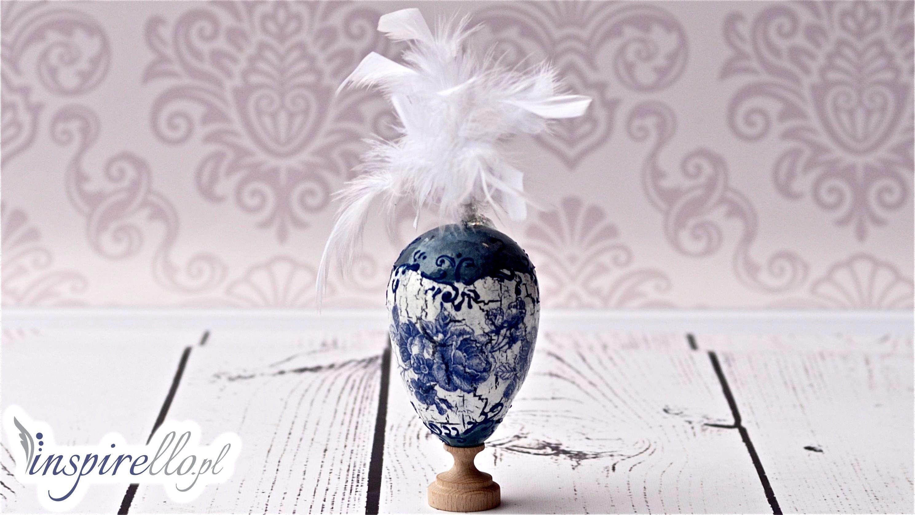 Film Pokazujacy Jak W Metodzie Decoupage Zrobic Pisanke Decoupage Zastosowano Technike Serwetkowa Spekacz Jednos Decoupage Tutorial Easter Eggs Diy Decoupage