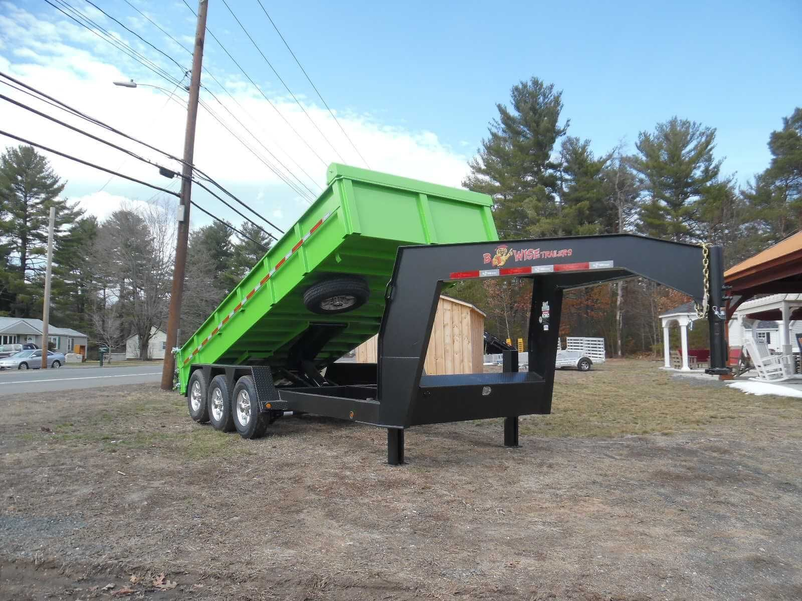 Bwise heavyduty triaxle dump trailer credit to hometown